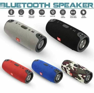 Wireless Bluetooth Speaker HIFI Portable Outdoor Rechargeable Stereo USB/TF/AUX