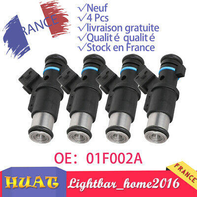 4x Injecteur Carburant Essence pour Citroën Berlingo C2 Peugeot 206 306 01F002A