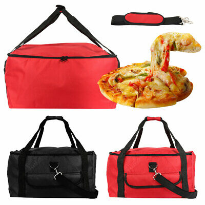 16in Food Pizza Delivery Bag Full Insulated All Sides Keep It Warm 42*42*23cm