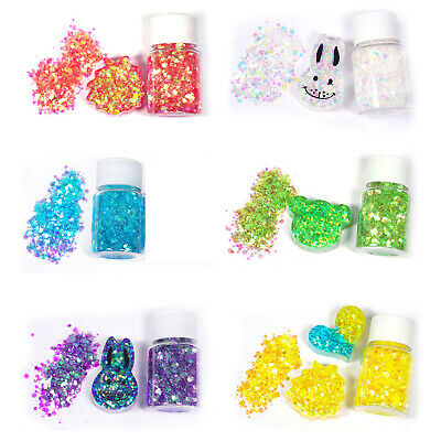 Shiny Mixed Glitter Sequins DIY Crystal Epoxy Resin Mold Fillings Making Jewelry