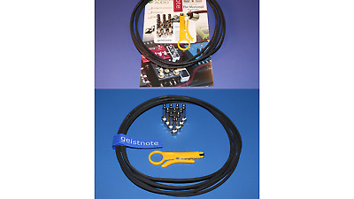 Evidence Audio 20 Feet Monorail Bulk Pedalboard Patch Cable Authorized Dealer