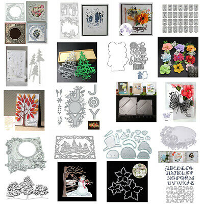 Lace Metal Cutting Dies Stencil Scrapbooking Album Decor Paper Embossing Crafts