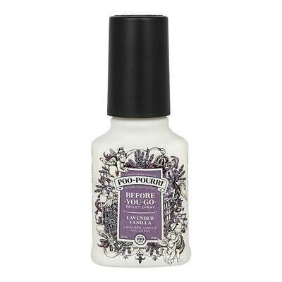 2oz Lavender Vanilla Poo Pourri Before You Go Toilet Spray Freshener Odour 59ml