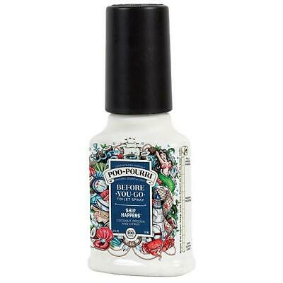 2oz Ship Happens Poo Pourri Before You Go Toilet Spray Freshener Odour 59ml