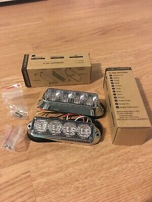 Led Amber .warning Lights.Like.Whelen.rsg