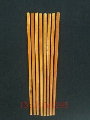 Collection Old Chinese Hand Carving Chopsticks Decoration Wonderful Gift