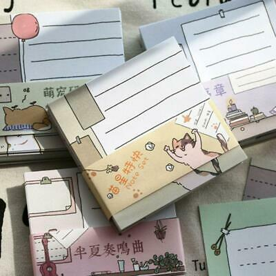Kawaii Memo Pad Bookmarks Planner Paper Stickers Sticky Notes Stationery Notepad