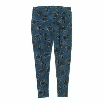 LuLaRoe Women's  Leggings size XL,  blue/navy,  polyester, spandex