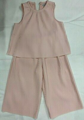 GIRLS NUDE TOP and CULOTTES OUTFIT MATALAN 9 yrs EXCELLENT CONDITION HARDLY WORN