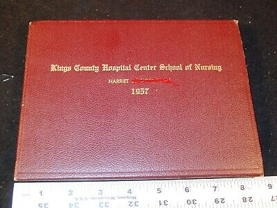 1957 Kings County Hospital Nursing School Diploma With Photo