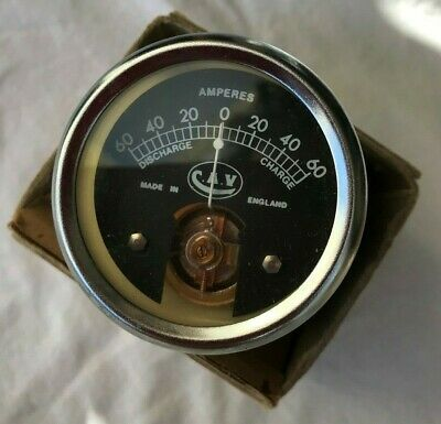 CAV Ammeter with Shunt, 60-0-60 Amps, Land Rover Military Models, 5539-233E
