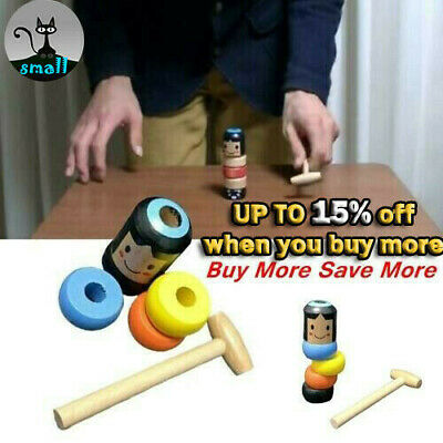 HOT SELL Magic Toy Unbreakable Wooden Man FOR Children Best Gifts
