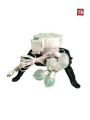 Gemmy Airblown Inflatable YEF-60 Replacement Fan, Base and Lights