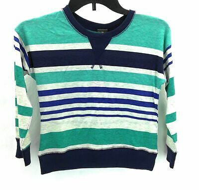 Poof Girls Long Long Sleeve Multi Color Striped Shirt Pull Over Size Large