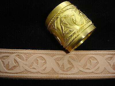 Leather Embossing Machine Roll ***  NEW *** Celtic Design Brass