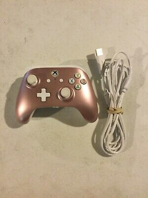 Microsoft Xbox One PowerA Enhanced Wired Controller Pink