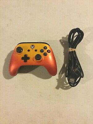 Microsoft Xbox One PowerA Enhanced Wired Controller Orange