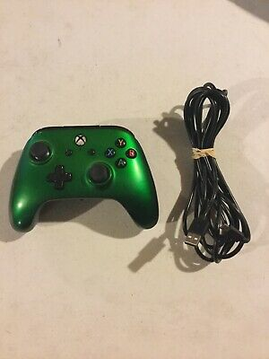 Microsoft Xbox One PowerA Enhanced Wired Controller Green