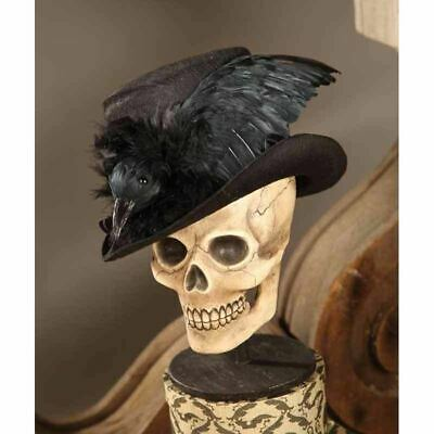 Haunted Raven Top Hat By Bethany Lowe Halloween