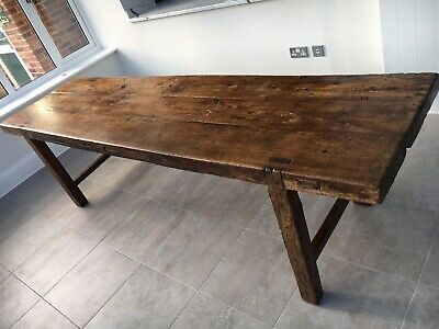 Antique Oak 17th Century French Dining Table