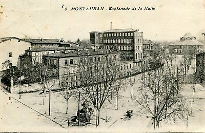 MONTAUBAN LOT de 3 cartes