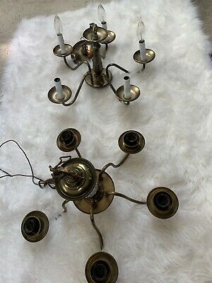 Antique Solid Brass Chandeliers