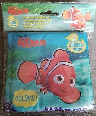 Bubble book for bath time or other~Finding Nemo