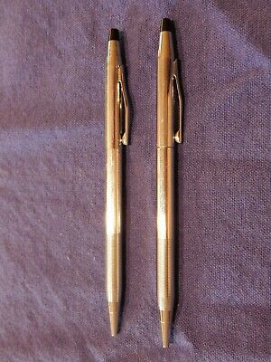 2 Vintage Cross Chrome Pens