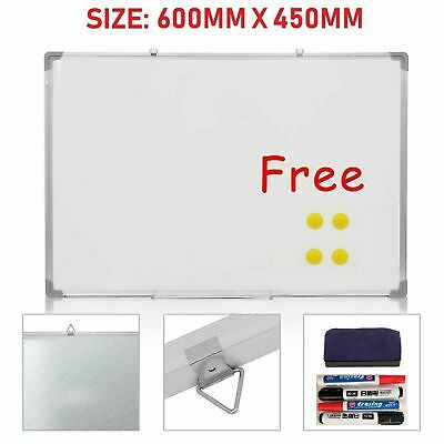 Large Magnetic Office Whiteboard 600mm x 450mm