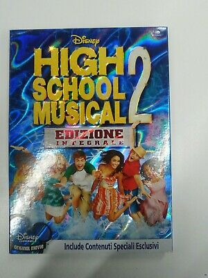 High School Musical 2 (2007) DVD slipcase edition rara fuori catalogo