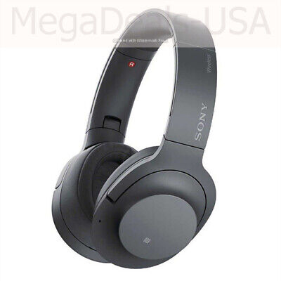 New - Sony h.ear on 2 Bluetooth NC Noise Canceling Stereo Headset WH-H900N Black