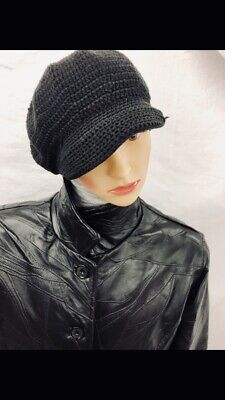 Gift Of Genuine Leather Winter Coat Solid Black Comfort Fitting Unisex Size Xxxl
