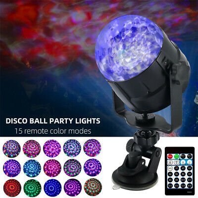 15 Modes Disco Party Lights Ball DJ Strobe Led Laser Indoor Outdoor Activated