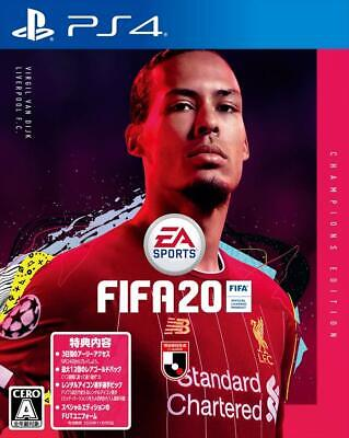 Fifa 20 Champions Edition Sony Playstation 4 Video Game From Japan Pre Order New