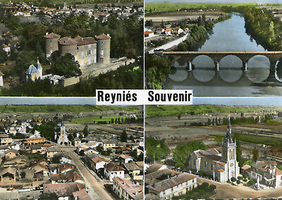 Carte REYNIES Souvenir