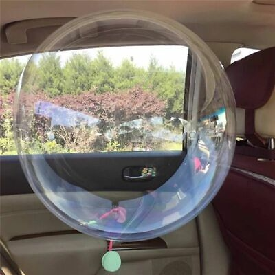 10pcs transparent clear bobo balloons no wrinkle wedding marriage party decKH