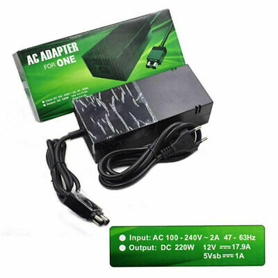 UK Power Supply AC Adapter Charger Charging Cable For Xbox One Main Console 2019