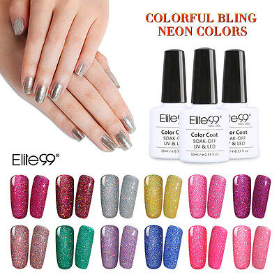 Elite99 Esmalte de Uñas de Gel UV LED Color Brillante Semipermanente Manicura