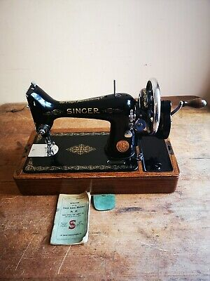 Prettiest early ¾ size Singer 99k sewing machine ~ Stunning timewarp condition