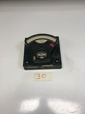 Vintage Weston -D.C.Millivoltmeter Model 44324 (Untested)