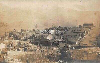 Gold Mining Ghost Town - Altman Teller Co. Colorado - Early Real Photo Card