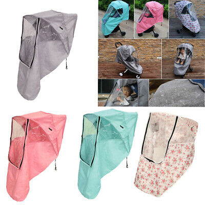 Stroller Weather Shield Baby Rain Cover Universal Size Waterproof Windproof