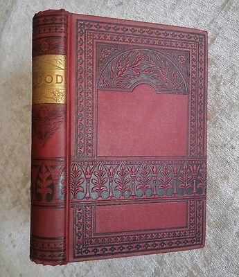 The Poetical Works of Thomas Hood Antique Victorian Decorative Classic Poetry