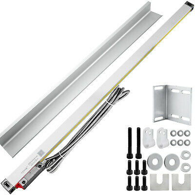 750MM Linear Scale For Milling Lathe Machine Aluminum Drilling 5 Bearing System