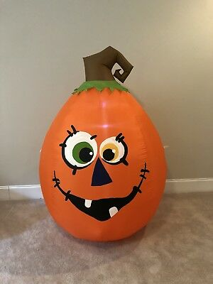 Gemmy Prototype Halloween Pumpkin Airblown Inflatable Blow Up Yard Decoration