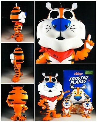 """MINT Funko POP! Shop Exclusive Frosted Flakes Tony The Tiger 10"""" IN HAND"""