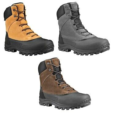 Timberland Mens Snowblades Winter Duck Snow Boots Wheat / Beige  / Black / Gray