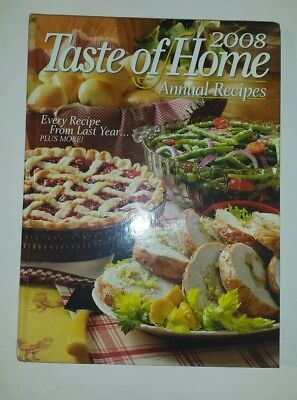 Taste of Home  Annual Recipes 2008 Book Collection hardcover