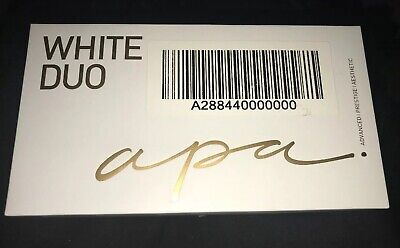Apa Beauty White Duo Teeth Whitening System w/Toothpaste - SEALED - FREE SHIP