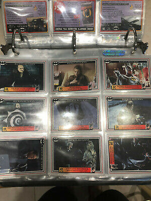 Batman Returns Trading Cards - full set of 150 (plus 3 gotham notes) MINT